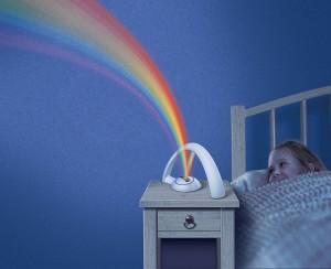 Rainbow Themed Bedroom Decor
