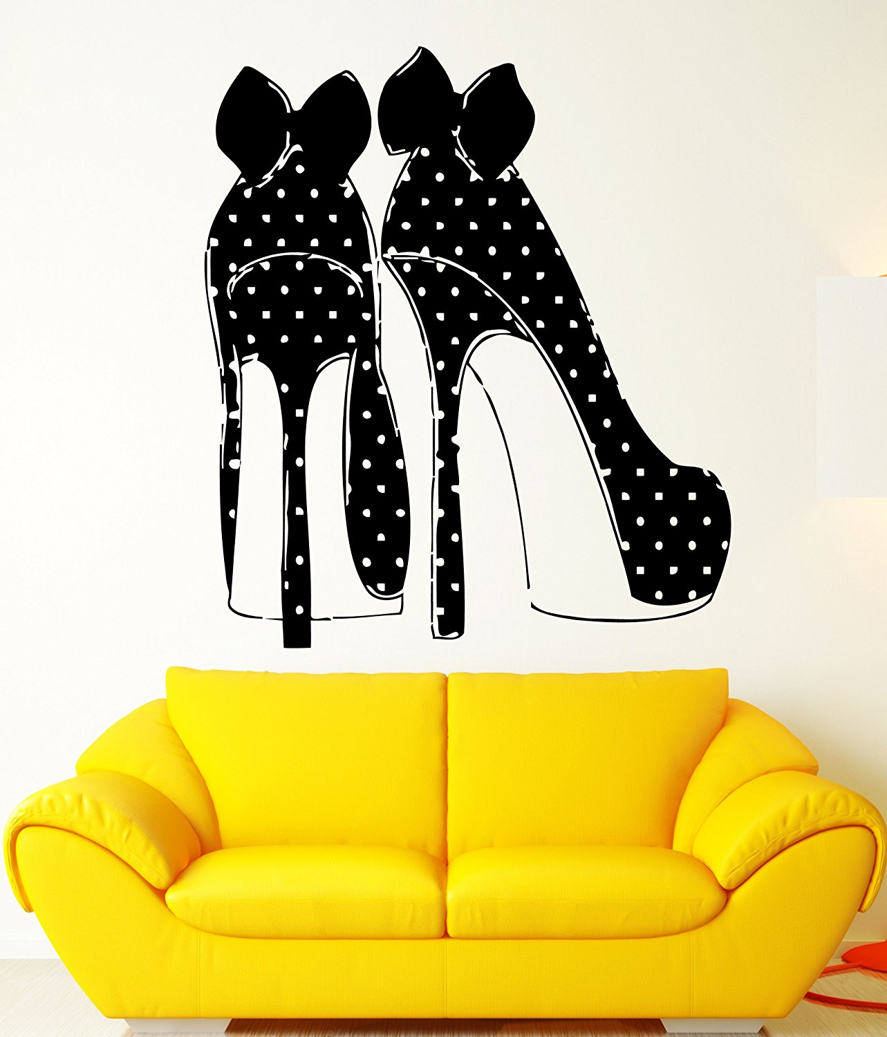 High Heel Wall Decals for the Funk\'N Queen in the Family