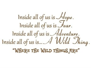 Inside of All of Us is Hope Wall Quote