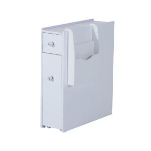 HomCom Slide-Out Bathroom Floor Cabinet