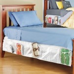 Bed Skirt Storage Unit