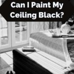 Is it ok to paint a ceiling black?
