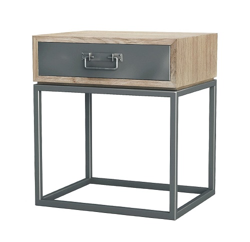 Teak And Iron Night Stand Funk This House Funk This House