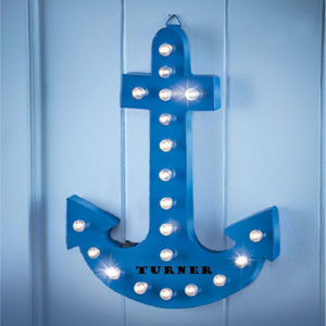 Battery Operated Lighted Wall Anchor