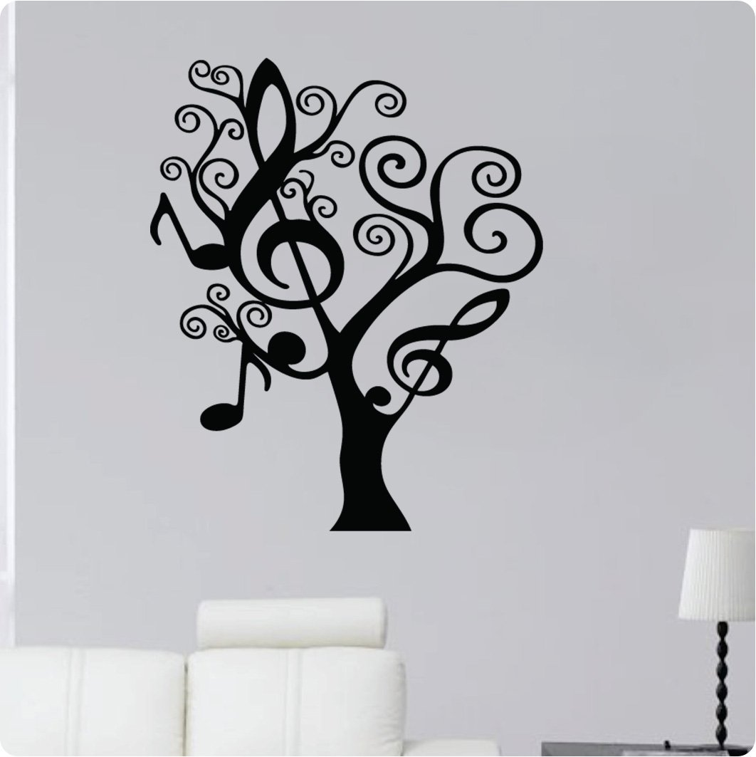 Funky black tree wall decals funkthishouse funk this house for Black tree wall mural