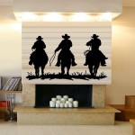 Funky Cowboy Wall Decals for the Wild One in the Family