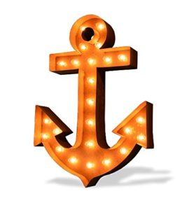 Marquee Lighted Wall Anchor