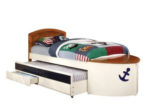 Boat Shaped Bed