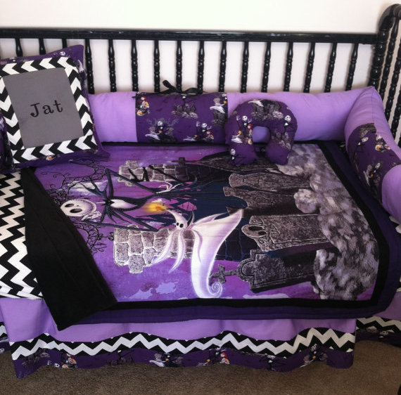 Nightmare Before Christmas Baby Bedding Sets