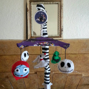 Nightmare Before Christmas Baby Mobile