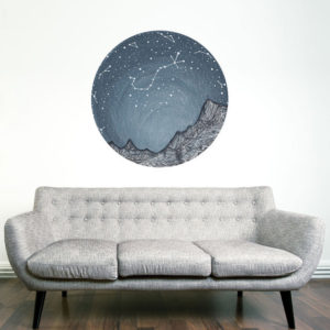 Scorpio Constellation Wall Decal