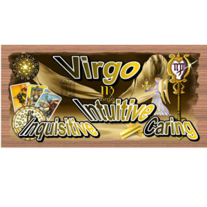 Virgo Wood Sign