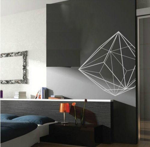 Geometric Wall Decals for Funku0027N Confusion - 5+ Design Choices : Funk This  House