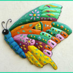 Painted Metal Wall Art When Your Walls Need Bright Beautiful & Original Funk