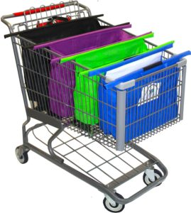 CartBagz Shopping Cart Trolley Bag Set