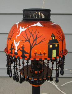 Handmade Halloween Table Lamp