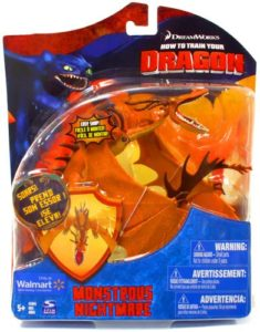 How to Train Your Dragon Montrous Nightmare Action Figure