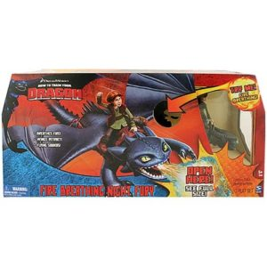 How to Train Your Dragon Night Fury Toy