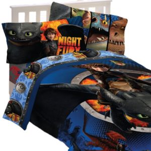 How to Train Your Dragon Twin Bedding Set