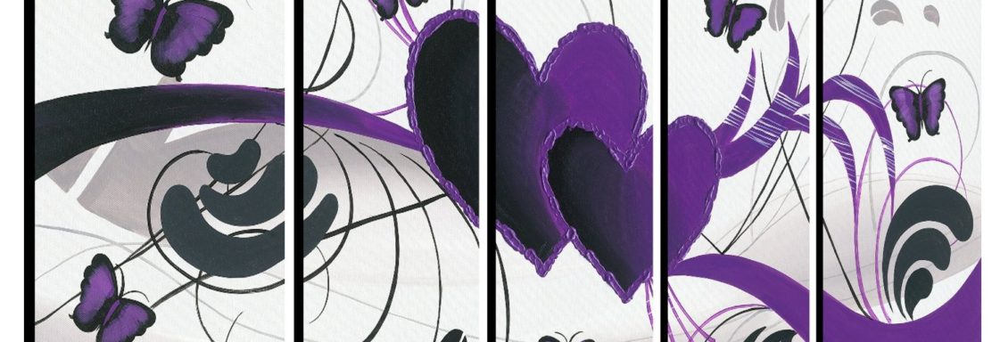 What Does Purple Represent in Home Decor