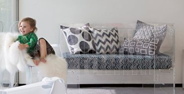 Acrylic Baby Cribs – Statement Cribs that Break from Standard Crib Choices