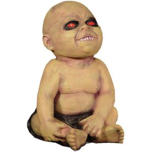 Freaky Fun with a Possessed Spinning Head Baby Prop