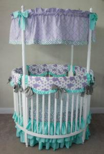 Handmade Round Crib Baby Set