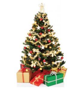 Standup Cardboard Christmas Tree