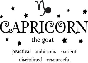 Capricorn Traits Wall Decal