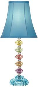 Bohemian Multi-Colored Blue Lamp