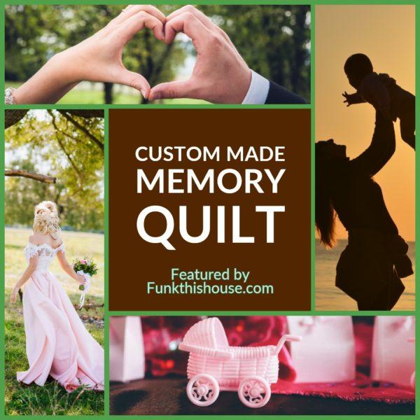 Custom Made Memory Quilt
