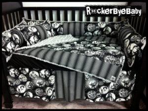 Custom Made Star Wars Crib Bedding