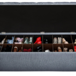 Secret Shoe Storage Bench – Another Funky Storage Solution