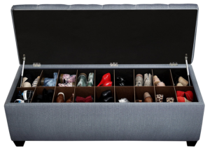 Large Shoe Storage Bench