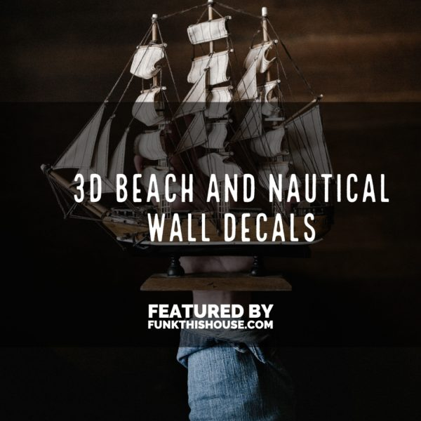 3D Nautical Wall Decals