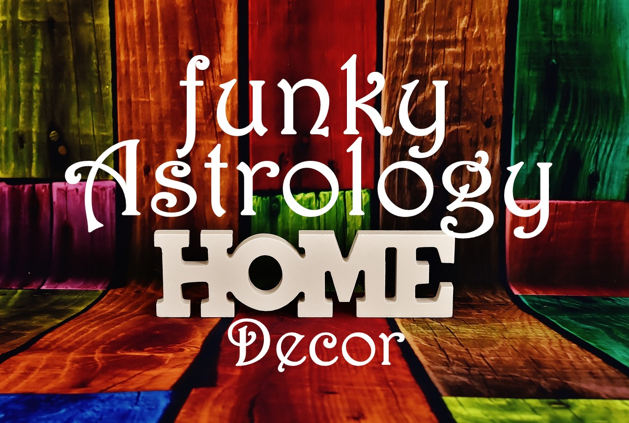 Funky Astrology Home Decor Ideas