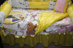 Beauty and the Beast Crib Bedding Set