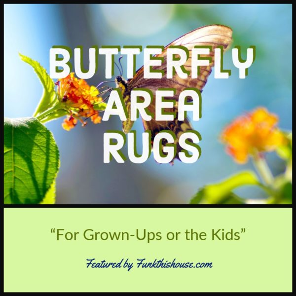 Butterfly Area Rugs