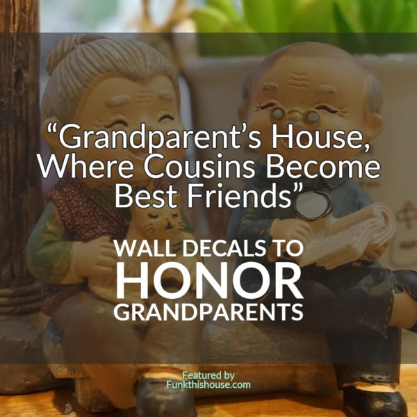 Grandparent Wall Decals