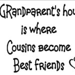 Wall Decal to Honor Grandparents