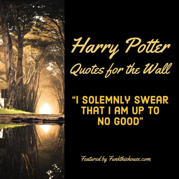 Harry Potter Wall Quotes