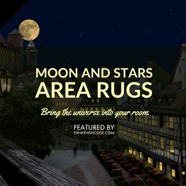 Moon and Stars Area Rugs