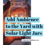 Solar Light Jars