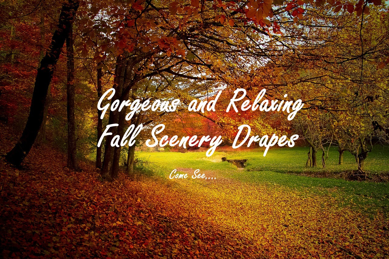 Fall Scenery Draperies