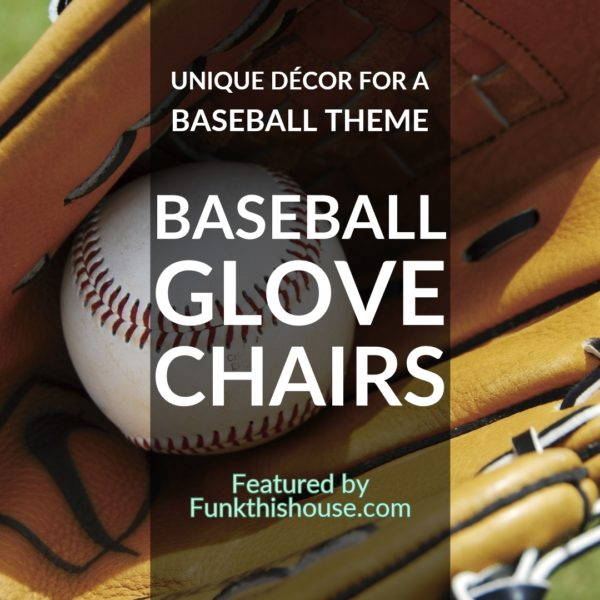 Baseball Glove Chairs