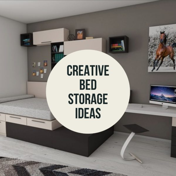 Creative Bed Storage Ideas