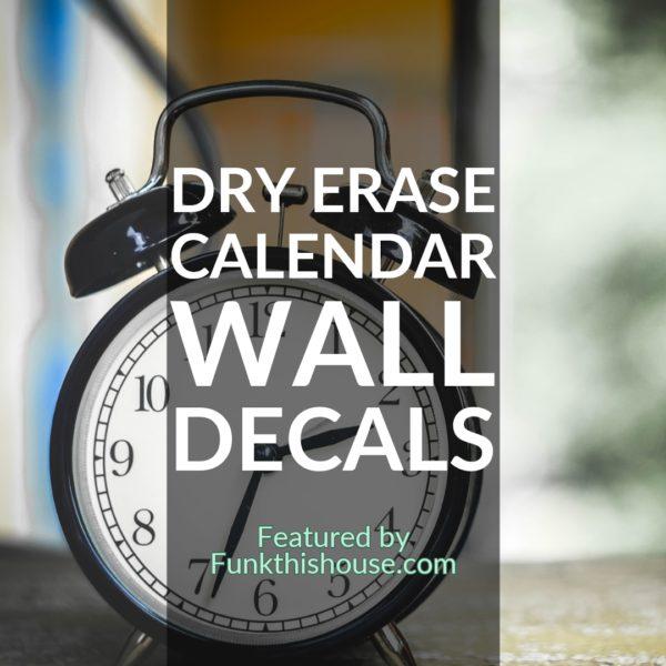Calendar Wall Decals