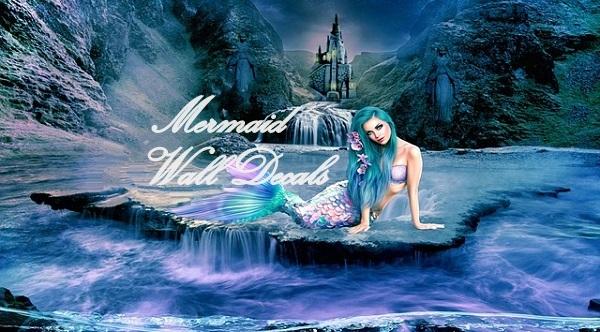 Mermaid Wall Decals