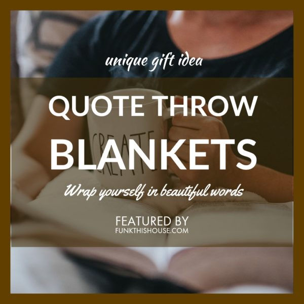 Quote Throw Blankets