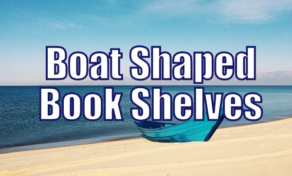 Boat Shaped Bookshelves